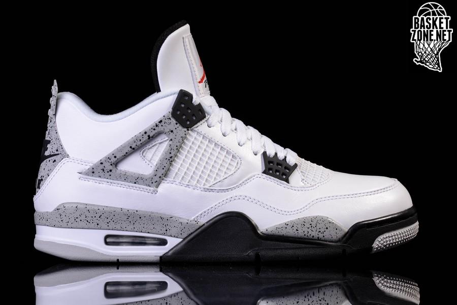 Nike Jordan 4 Retro White Cement