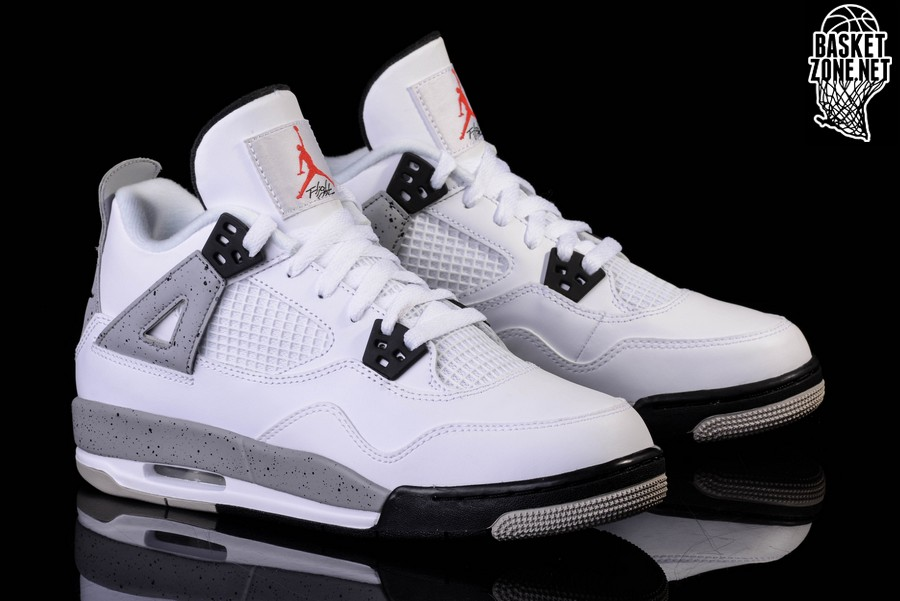 Nike Air Jordan 4 Retro White Cement