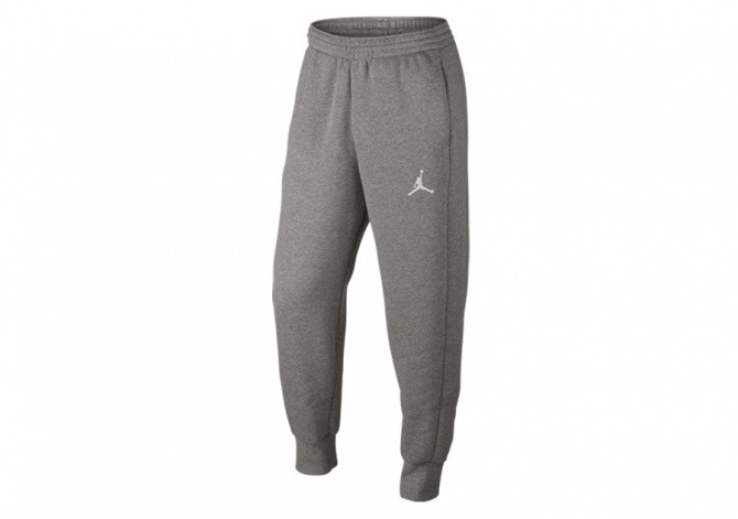 NIKE AIR JORDAN FLIGHT PANT DARK GREY HEATHER
