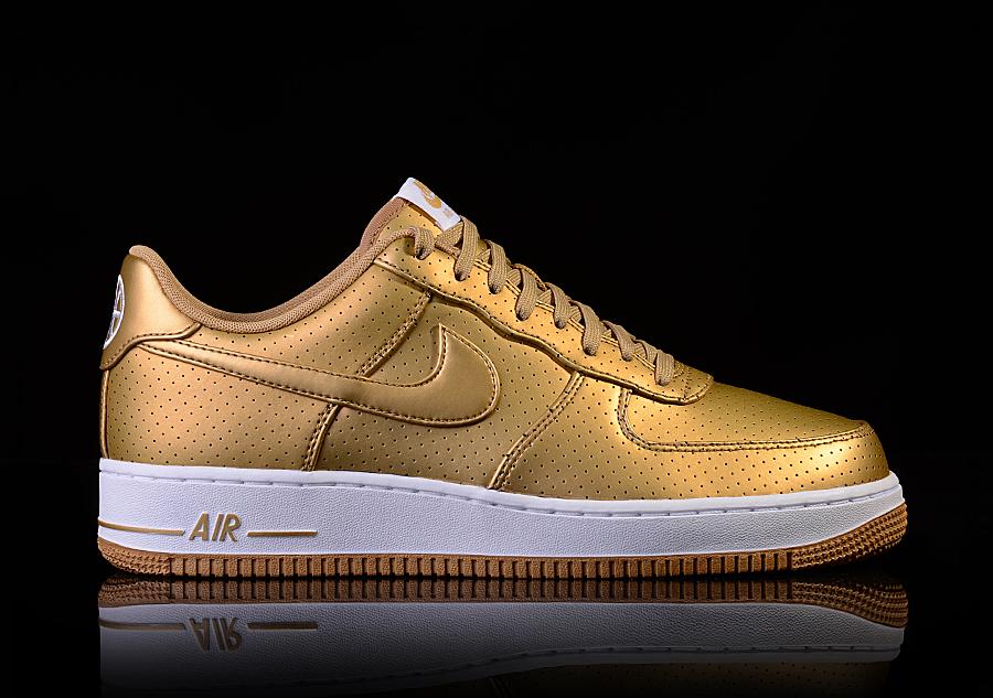 watch 92f1b 3b539 NIKE AIR FORCE 1  07 LV8 GOLD METALLIC für €87,50   Basketzone.net