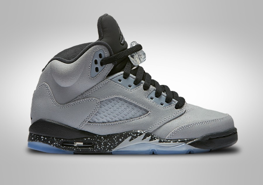500c99bd9f85 NIKE AIR JORDAN 5 RETRO GG WOLF GREY (SMALLER SIZE) price €122.50 ...