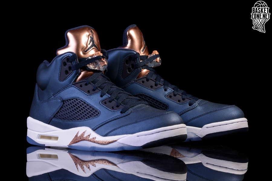 best sneakers e4a16 9719b NIKE AIR JORDAN 5 RETRO BRONZE