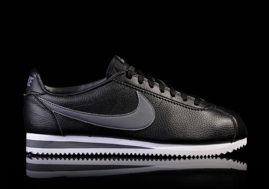 Classic €69 Leather Black 00 Pour Cortez Nike 34ALj5R