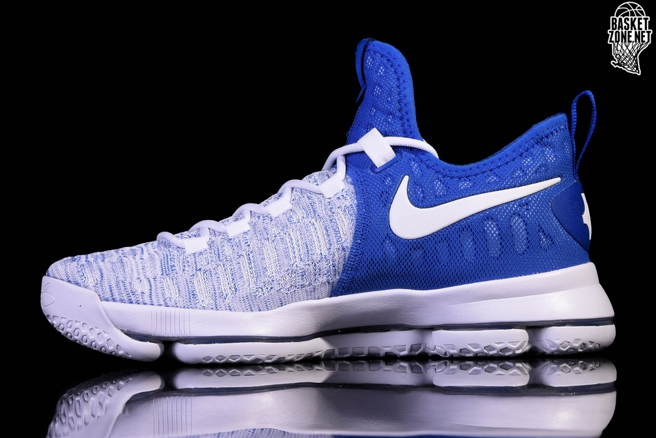 e5e08fb9991 NIKE ZOOM KD 9 WARRIORS HOME ALTERNATIVE Modré cena 3702