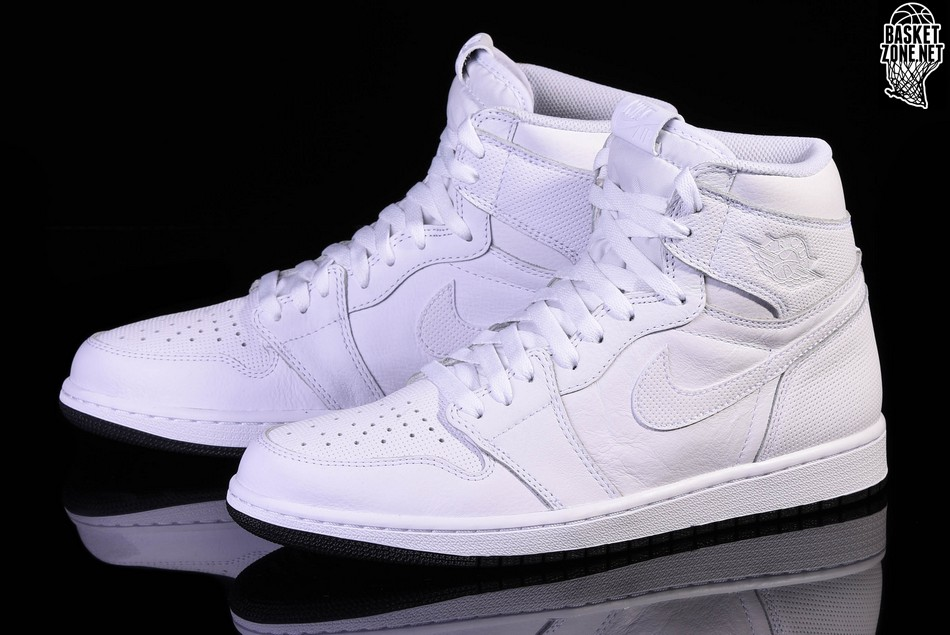 2d3aa8a8eb7d NIKE AIR JORDAN 1 RETRO HIGH OG WHITE PERFORATED PACK price €117.50 ...