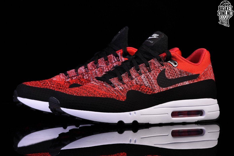 low priced 8cb43 68661 NIKE AIR MAX 1 ULTRA 2.0 FLYKNIT UNIVERSITY RED price ...
