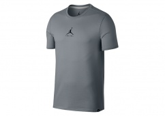 NIKE AIR JORDAN 23/7 JUMPMAN BASKETBALL TEE COOL GREY