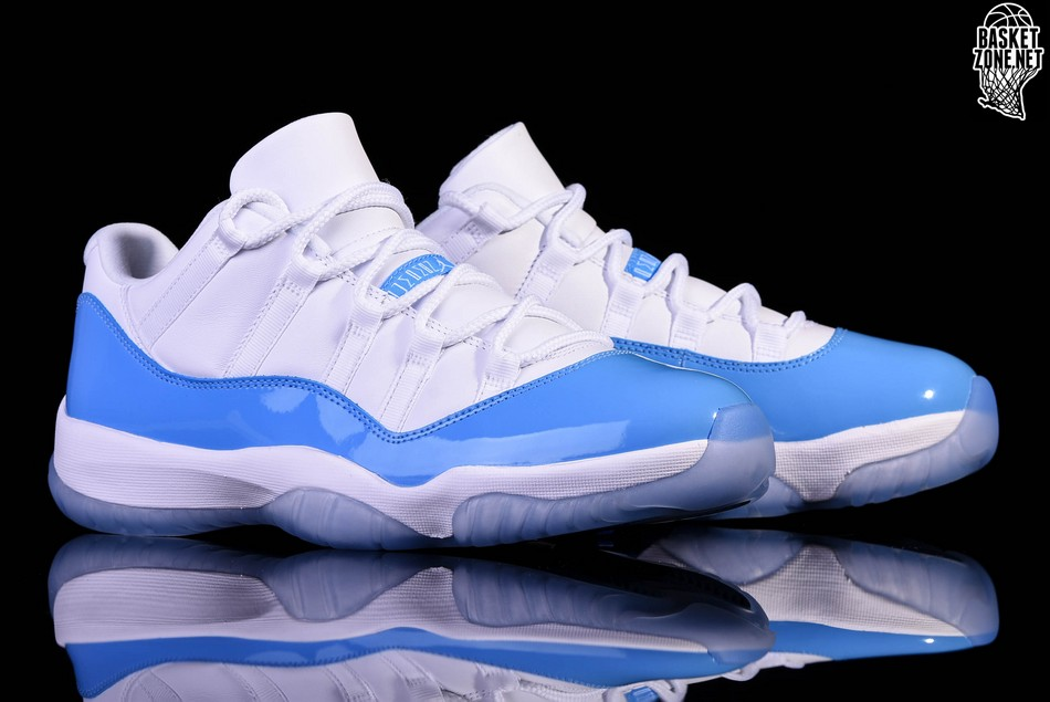 NIKE AIR JORDAN 11 RETRO LOW UNC NORTH CAROLINA BLUE price €167.50 ... 1d1c929ea