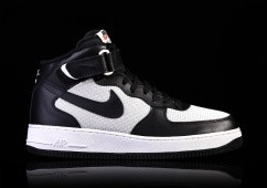 NIKE AIR FORCE 1 MID '07 BLACK GREY