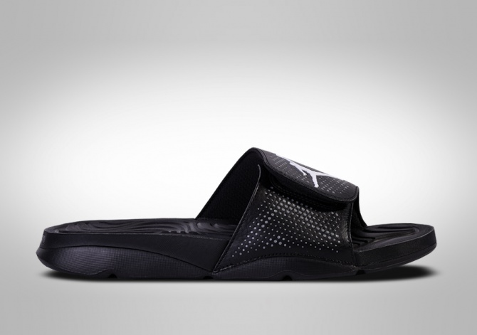 NIKE AIR JORDAN HYDRO 5 SLIDE BLACKOUT
