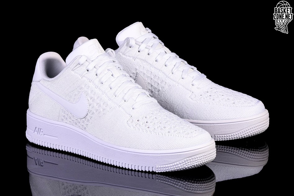 quality design 3041f 86a2d NIKE AIR FORCE 1 ULTRA FLYKNIT LOW WHITE