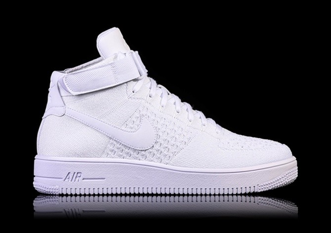 pretty nice 0bc4c d89fb NIKE AIR FORCE 1 ULTRA FLYKNIT MID WHITE per €115,00 ...