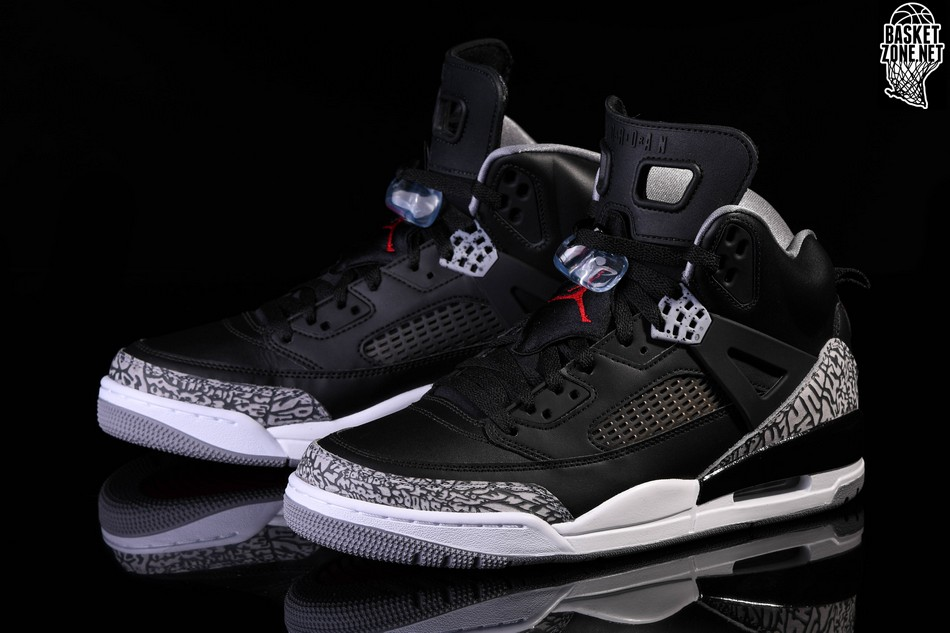 4eb4dd2ffa54 NIKE AIR JORDAN SPIZIKE BLACK CEMENT BG price 8122.50₹