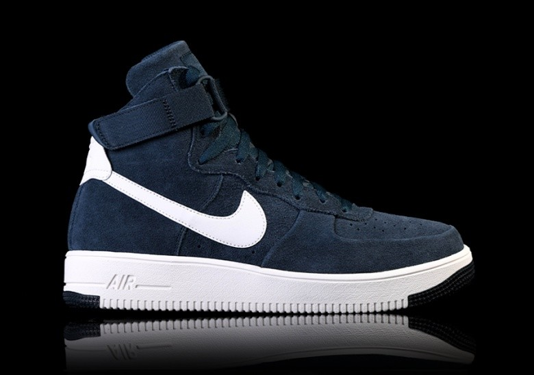 the latest 236d1 e8593 NIKE AIR FORCE 1 ULTRAFORCE HIGH ARMORY NAVY