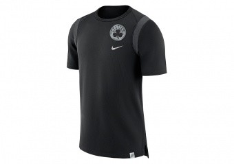 NIKE NBA BOSTON CELTICS TOP BLACK ANTHRACITE