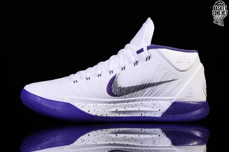 reputable site 3d3aa 150bd NIKE KOBE A.D. 12 MID GENESIS WHITE PURPLE  Adaptable Nike Zoom Kobe 9 EM  XDR Low PurpleGreen Mens Basketball Shoes Trainers 653972 605 ...
