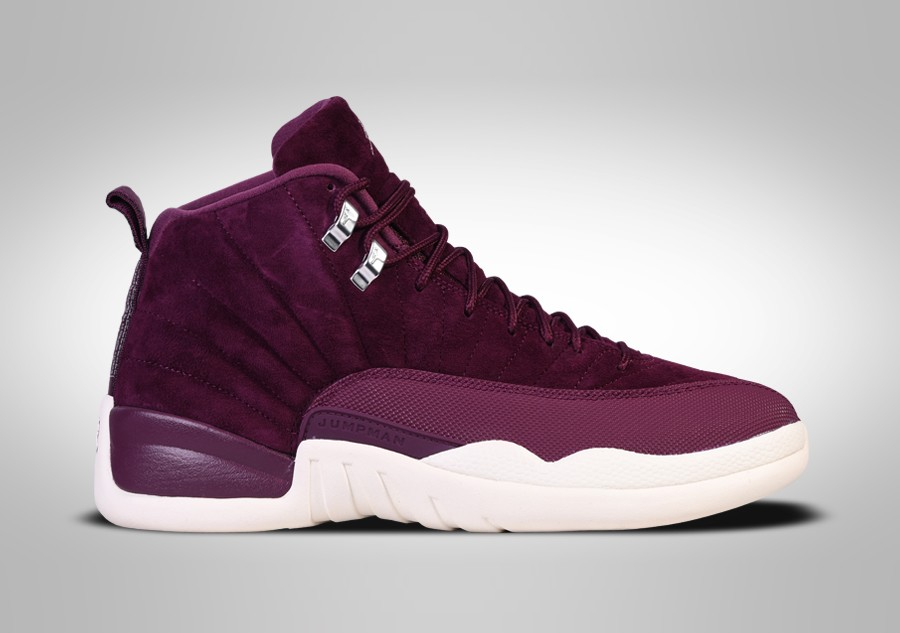 Voor Nike 12 Retro Air Bordeaux Jordan HxZwn1qS
