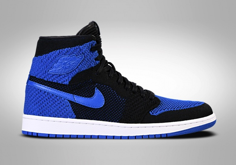 NIKE AIR JORDAN 1 RETRO HIGH FLYKNIT BG ROYAL BLUE