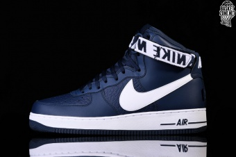 the best attitude 91683 9495a NIKE AIR FORCE 1 HIGH '07 NBA COLLEGE NAVY price €105.00 ...
