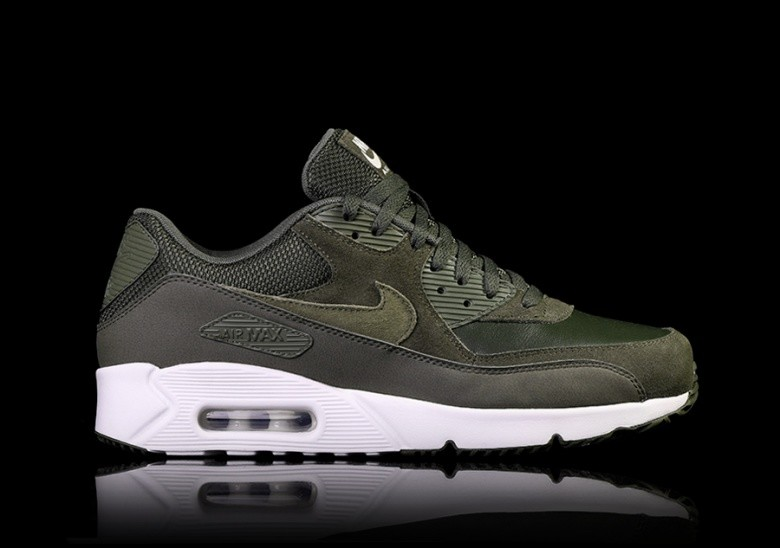 NIKE AIR MAX 90 ULTRA 2.0 LEATHER CARGO KHAKI