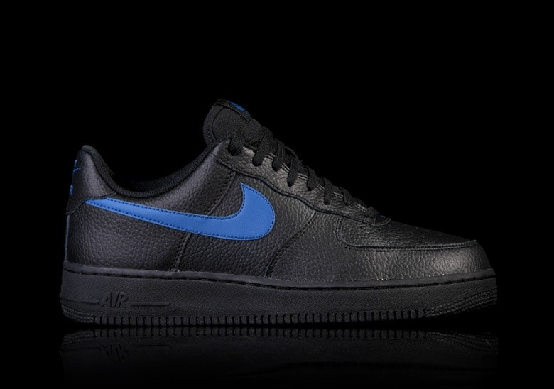 NIKE AIR FORCE 1  07 BLACK BLUE por €87 171caa081efd9
