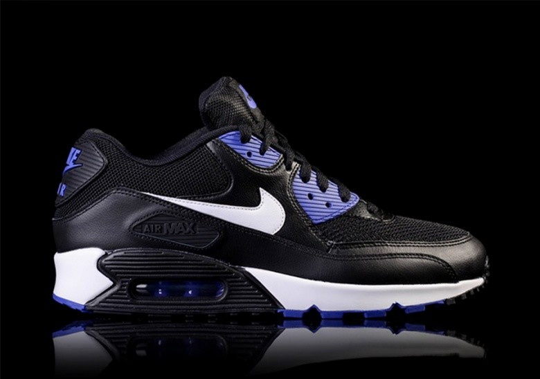 buy popular 35b86 98cb0 NIKE AIR MAX 90 ESSENTIAL BLACK PERSIAN VIOLET