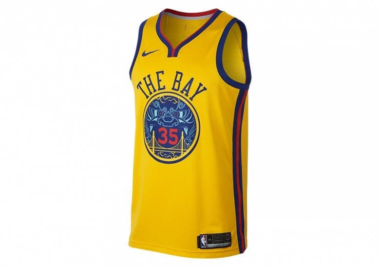 a5151aae3 NIKE NBA KEVIN DURANT GOLDEN STATE WARRIORS CITY EDITION SWINGMAN JERSEY  AMARILLO