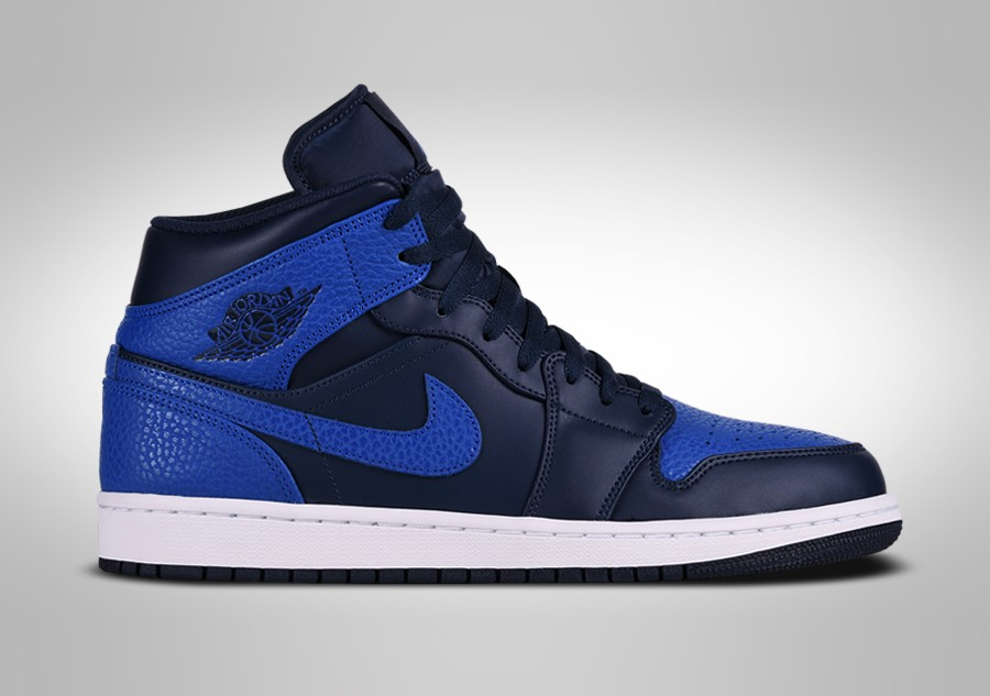 4bf707f4 NIKE AIR JORDAN 1 RETRO MID OBSIDIAN ROYAL por €102,50 | Basketzone.net