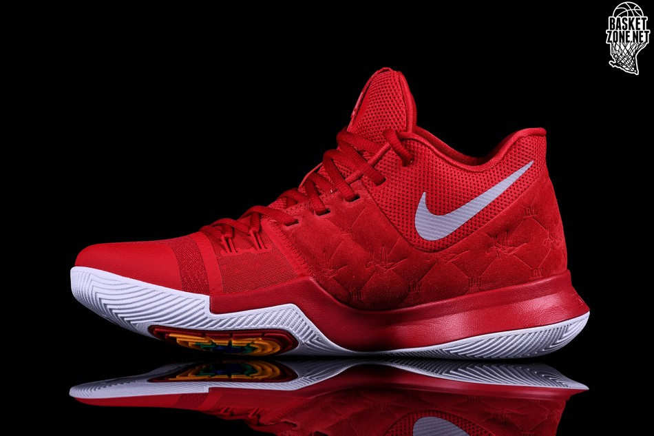 buy online cbc9e 672ed ... low cost nike kyrie 3 red suede d1506 5ad43