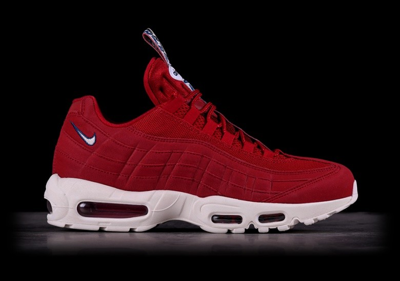 ce348a45eac NIKE AIR MAX 95 TT GYM RED voor €139,00 | Basketzone.net