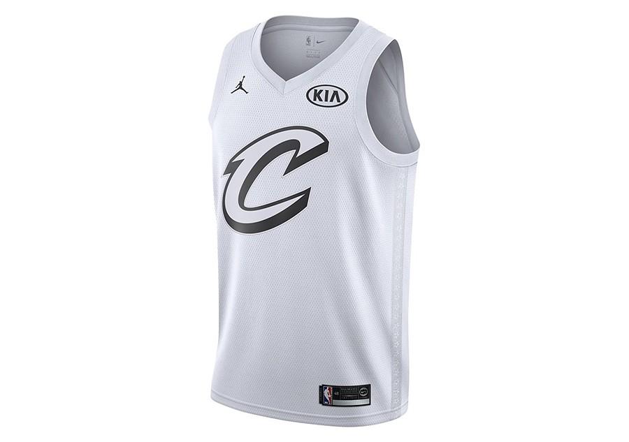 size 40 b6c99 631e8 NIKE AIR JORDAN NBA LEBRON JAMES ALL-STAR 2018 SWINGMAN ...