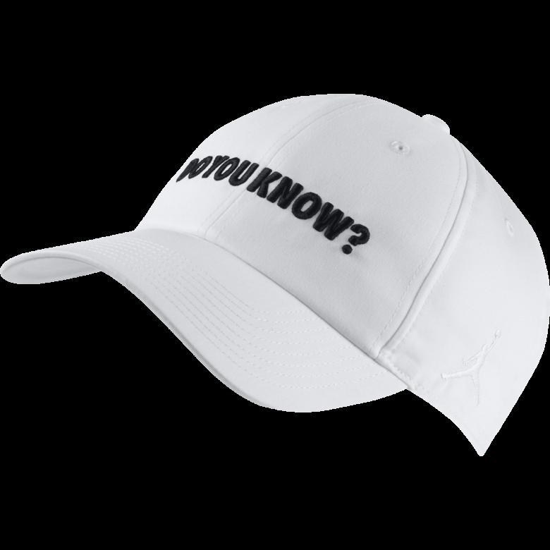 b0dda3a7d75ad NIKE AIR JORDAN HERITAGE86  DO YOU KNOW   HAT. WHITE. 3235