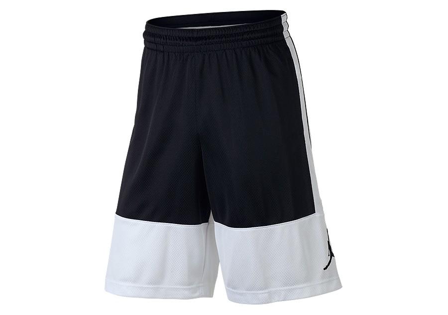 5b7d8bf6e8b NIKE AIR JORDAN RISE SOLID SHORTS WHITE BLACK price €32.50 | Basketzone.net