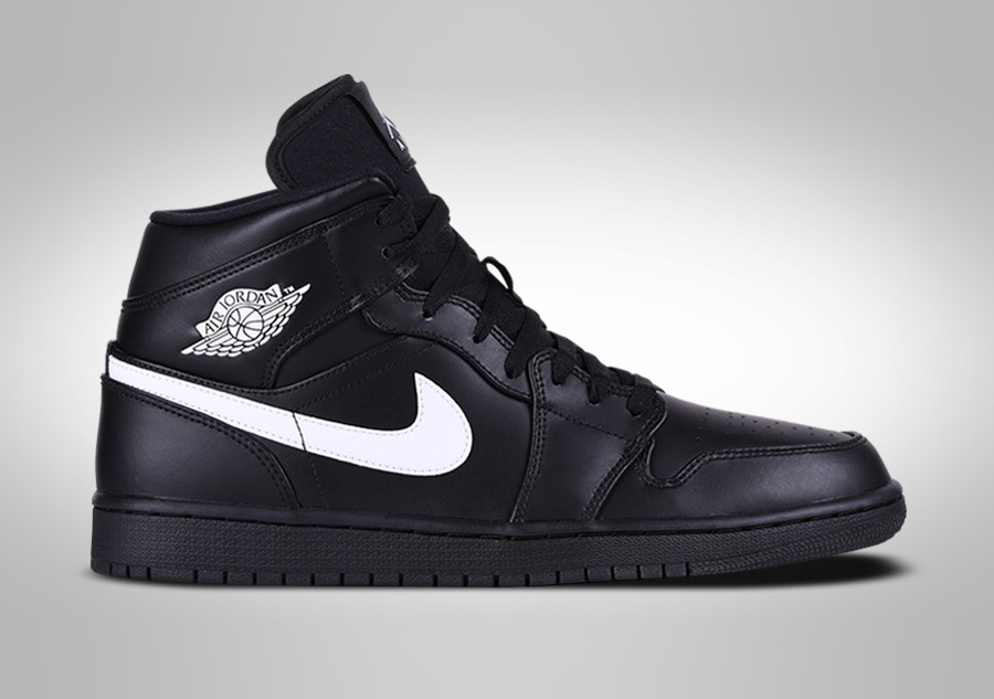 59a962a1863e NIKE AIR JORDAN 1 RETRO MID BLACK WHITE price €109.00