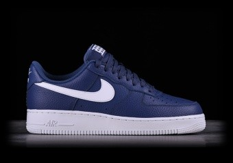detailed look 356ae 97491 NIKE AIR FORCE 1 07 BLUE RECALL