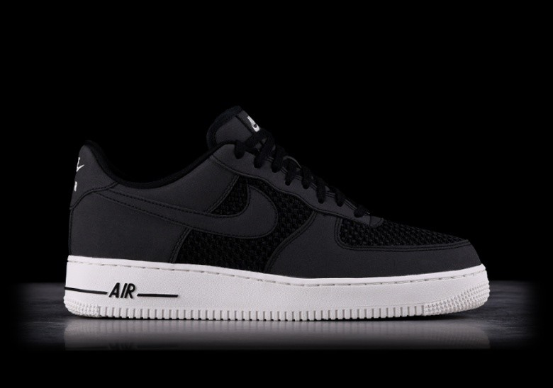 NIKE AIR FORCE 1 LO BLACK