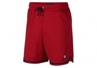 NIKE AIR JORDAN SPORTSWEAR LAST SHOT MESH SHORTS GYM RED