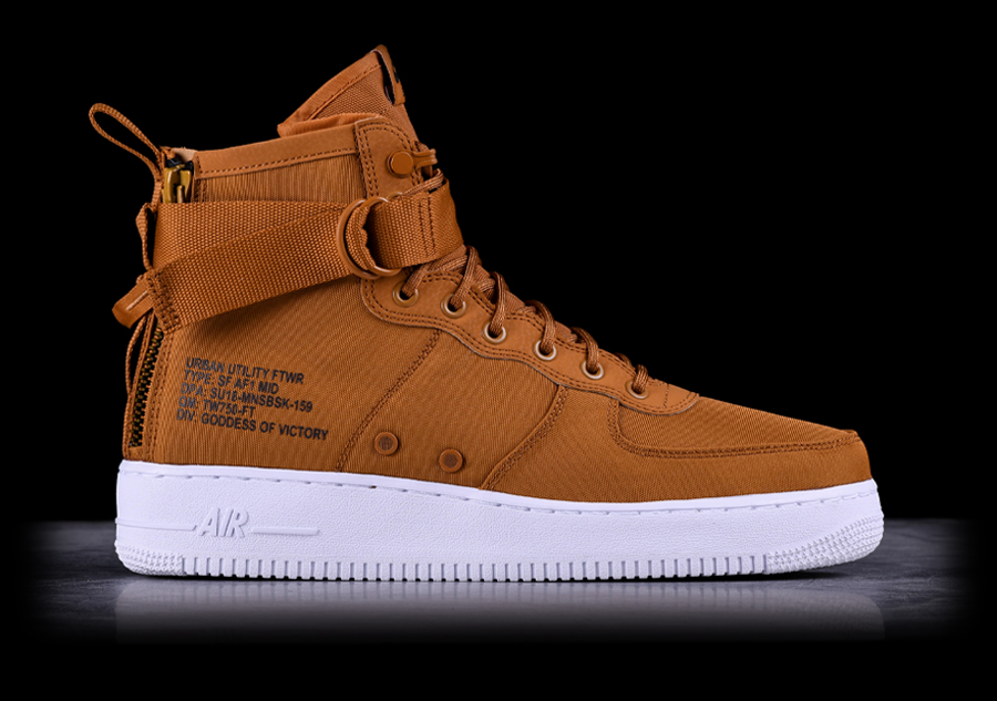 san francisco 923bd 3e576 NIKE AIR FORCE 1 MID SF DESERT OCHRE für €127,50   Basketzone.net