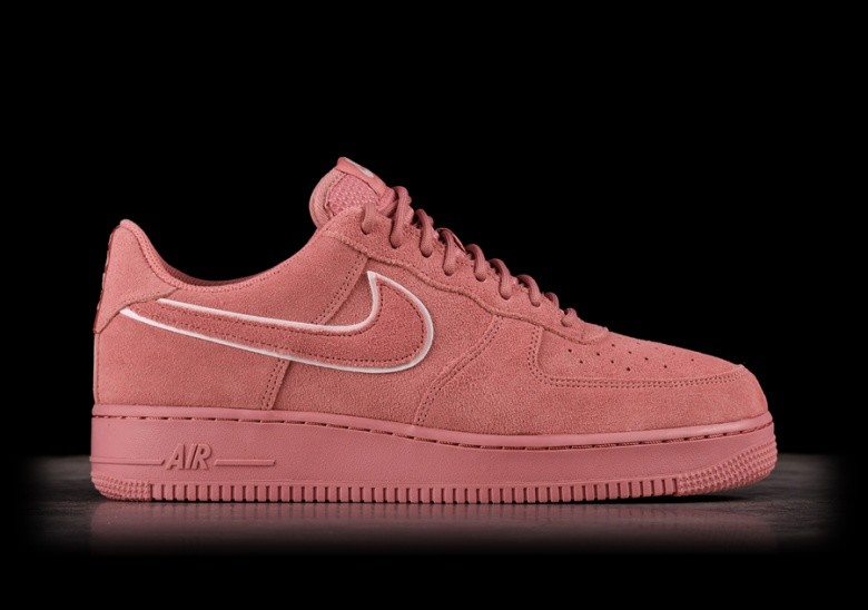 97571274ce765 NIKE AIR FORCE 1 '07 LV8 SUEDE RED STARDUST price €89.00 ...