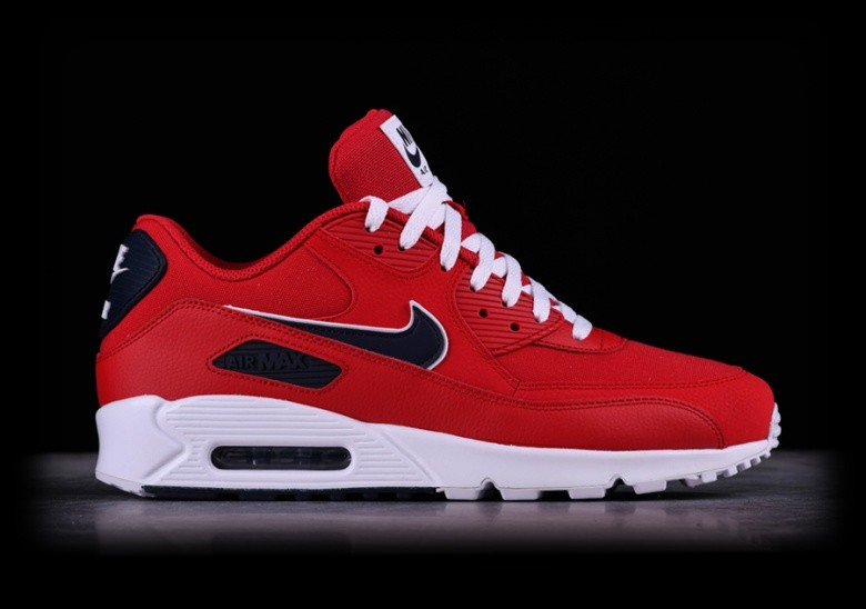 NIKE AIR MAX 90 ESSENTIAL UNIVERSITY RED