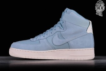 46ffa295d11d NIKE AIR FORCE 1 HIGH  07 SUEDE OCEAN BLISS pour €115