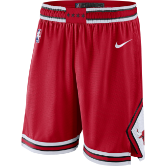 NIKE NBA CHICAGO BULLS SWINGMAN ROAD SHORTS