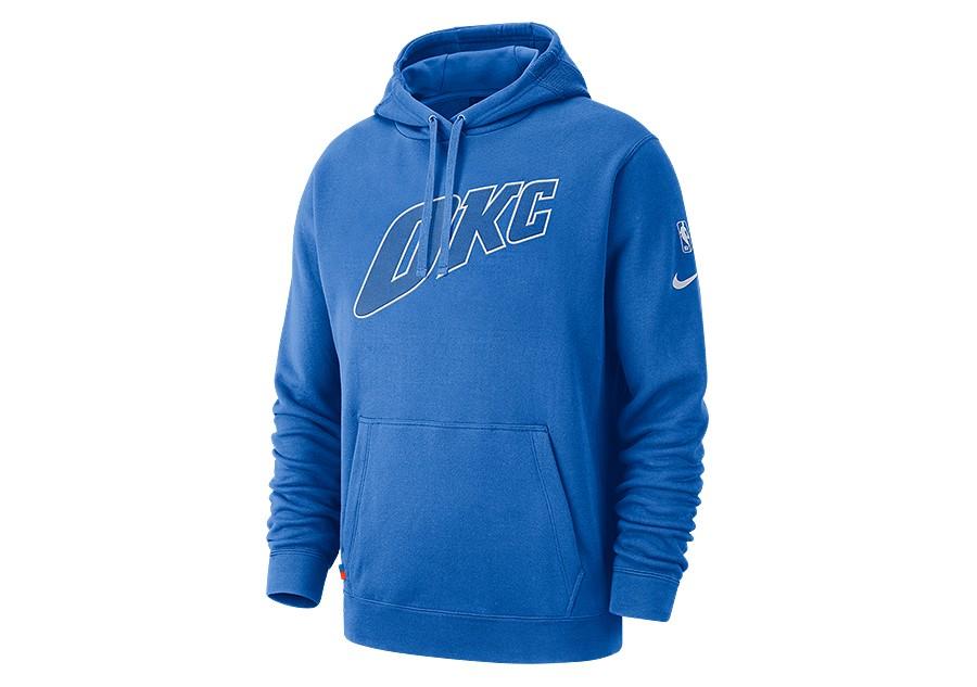 99d7370a8 NIKE NBA OKLAHOMA CITY THUNDER COURTSIDE HOODIE SIGNAL BLUE price ...