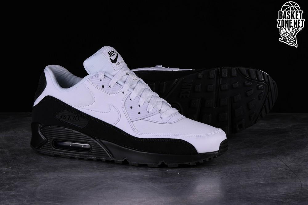 NIKE AIR MAX 90 ESSENTIAL BLACK WHITE pour €117,50 | Basketzone.net