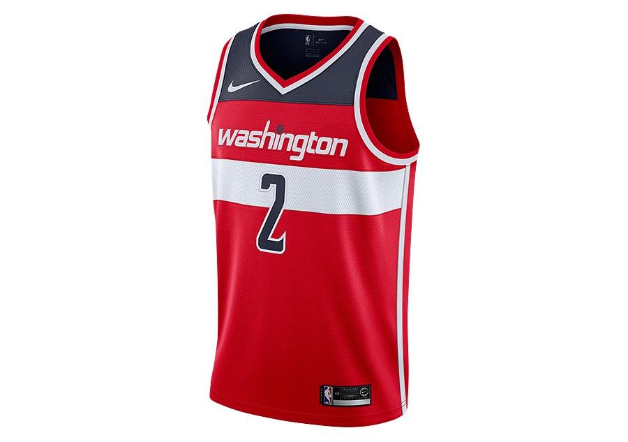 8d152b74b29 NIKE NBA WASHINGTON WIZARDS JOHN WALL SWINGMAN ROAD JERSEY UNIVERSITY RED  price €77.50