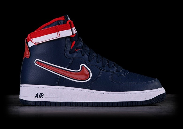 chaussures de séparation 1bf20 d9974 NIKE AIR FORCE 1 HIGH '07 LV8 NBA SPORT PACK DREAM TEAM pour ...