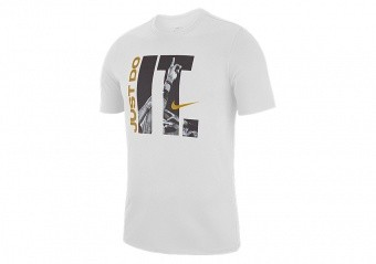 NIKE JUST DO IT DRY TEE WHITE