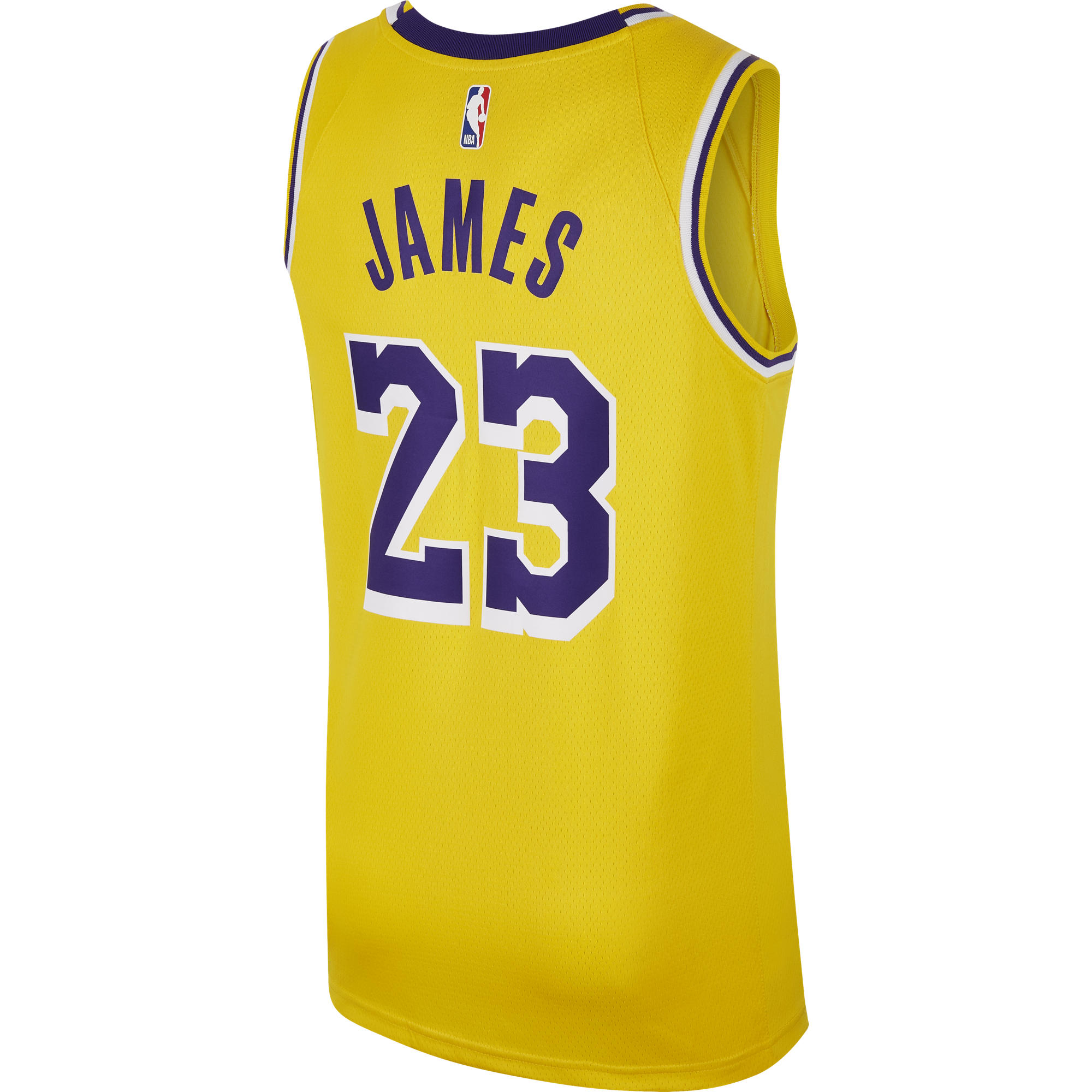 1dc306a34f27 NIKE NBA LOS ANGELES LAKERS LEBRON JAMES SWINGMAN ROAD JERSEY. Previous Next
