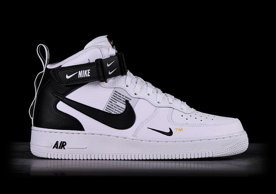 Nike Air Force 1 Mid 07 Lv8 Utility White Fur 117 50 Basketzone Net