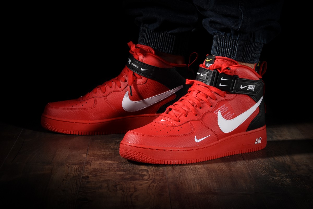 nike air force 1 utility rouge